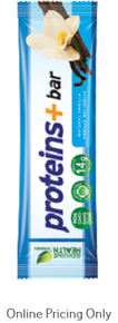 GENUINE HEALTH PROTEINS+ EXPRESS PROTEIN BARS VANILLA BOX 12 x 50g