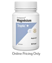 Trophic Magnesium Chelazome 90caplets