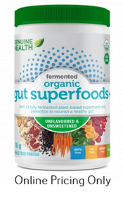 Genuine Health Gut Superfoods+ Unflavoured 91g