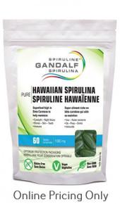 Gandalf Hawaiian Spirulina 60tabs