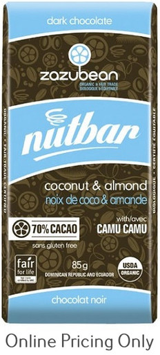 Zazubean Nutbar 85g