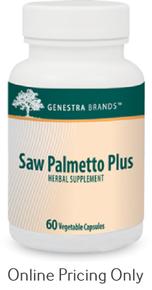 Genestra Brands Saw Palmetto Plus 60caps