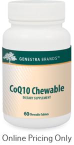Genestra Brands CoQ10 Chewable 60tabs