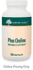 Genestra Brands Phos Choline 90sg