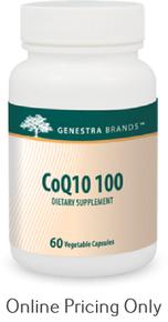 Genestra Brands CoQ10 100 60caps