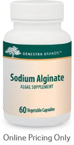 Genestra Brands Sodium Alginate 60caps