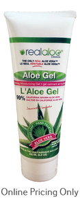 Real Aloe Aloe Vera Gel Tube 200ml
