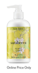 Sarabecca Floral Citrus Body Lotion 280ml