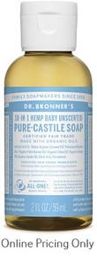 Dr. Bronner's Baby Mild Castile Soap 59ml