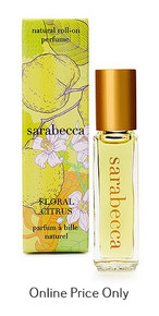 Sarabecca Roll On Perfume Floral Citrus 7.5ml