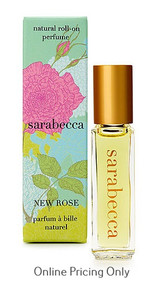 Sarabecca Roll On Perfume New Rose 7.5ml