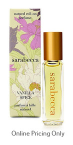 Sarabecca Roll On Perfume Vanilla Spice 7.5ml