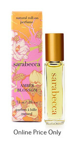 Sarabecca Roll On Perfume Amber Blossom 7.5ml