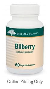 Genestra Bilberry 60vcaps