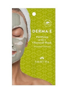 Derma E Purifying 2-in-1 Charcoal Mask 10g