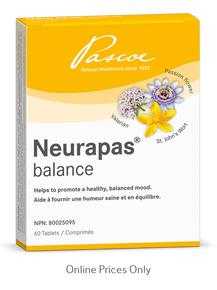 Pascoe Neurapas Balance 60tabs
