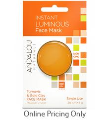 Andalou Naturals Instant Luminous Face Mask 8g