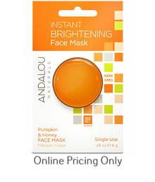 Andalou Naturals Instant Brightening Face Mask 8g