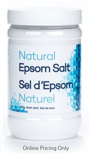 EpsomGel Natural Epsom Salt 750g
