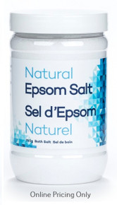 EpsomGel Natural Epsom Salt 750g