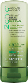 Giovanni 2Chic Avocado & Olive Oil Deep Moisture Hair Mask 147ml