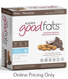 Suzie's Good Fats Rich Chocolate Almond Bar Box of 12