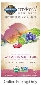 MyKind Organics Women's Multi 40+ 60vcaps