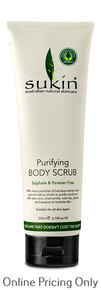 Sukin Purifying Body Scrub 200ml