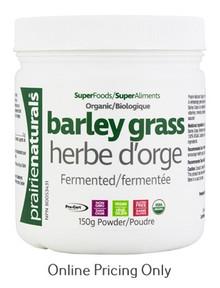 Prairie Naturals Fermented Barley Grass 150g