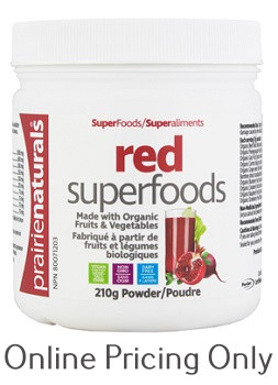 Prairie Naturals Organic Red Superfood 210g