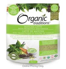 Organic Traditions Matcha Latte 150g