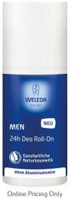 Weleda Men's 24hr Roll-On Deodorant 50ml