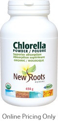 New Roots Chlorella Certified Organic 454g