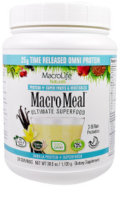 MacroLife MacroMeal Vanilla 600g