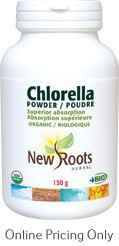 New Roots Chlorella Certified Organic 150g