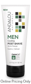 Andalou Naturals CannaCell Cooling Post Shave 92ml