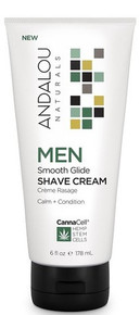Andalou Naturals CannaCell Smooth Shave Cream 178ml