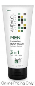 Andalou Naturals CannaCell Invigorating Body Wash 251ml