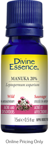 Divine Essence Wild Manuka Essential Oil 20% 15ml