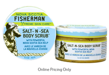 Nova Scotia Fisherman Salt n Sea Body Scrub 153g
