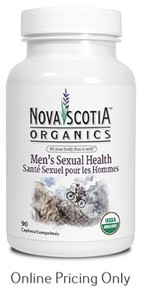 Nova Scotia Organics Men's Sexual Health 90caps