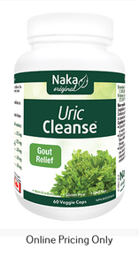 Naka Uric Cleanse 60vcaps