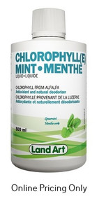 Land Art Chlorophyll Mint 500ml