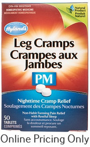 Hylands Leg Cramps PM 50 tabs