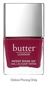 Butter London Patent Shine 10X Nail Lacquer Broody 11ml