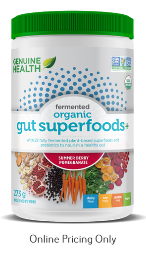 Genuine Health Gut Superfood Summer Berry Pomegranate 273g