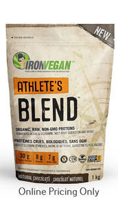 Iron Vegan Athlete Blend Natural Chocolate 1kg