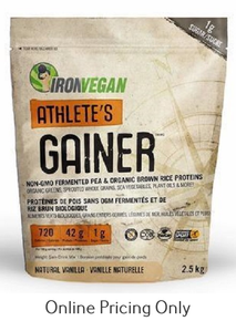 Iron Vegan Athlete Gainer Vanilla 2.5kg