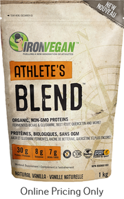 Iron Vegan Athlete Blend Natural Vanilla 1kg