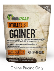 Iron Vegan Athlete Gainer Chocolate 2.5kg